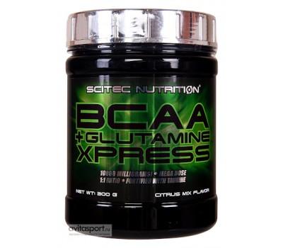 Scitec Nutrition BCAA + Glutamine Xpress 300g (Цитрус)