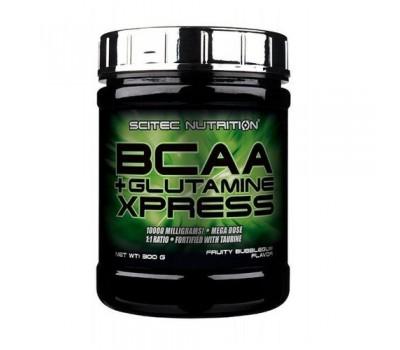 Scitec Nutrition BCAA + Glutamine Xpress 300g (Бабл-Гам)