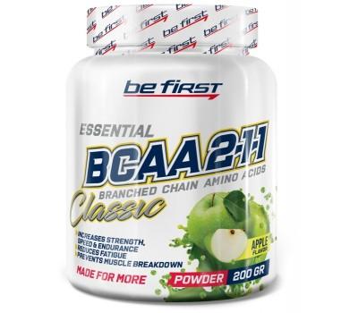 Be First BCAA 2:1:1 CLASSIC powder 200g (Яблоко)