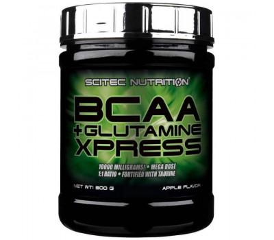 Scitec Nutrition BCAA + Glutamine Xpress 300g (Яблоко)