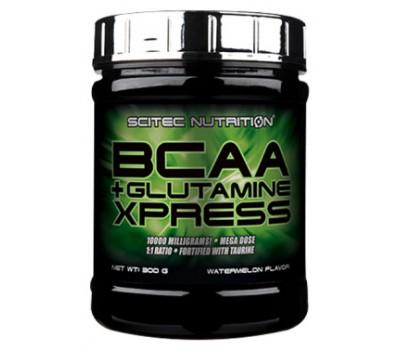 Scitec Nutrition BCAA + Glutamine Xpress 300g (Арбуз)