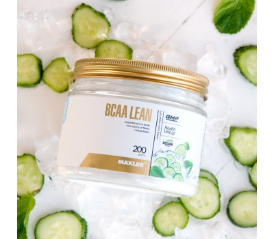 Maxler BCAA Lean (vegan BCAA/Fibers) 200g (Огурец-мята)