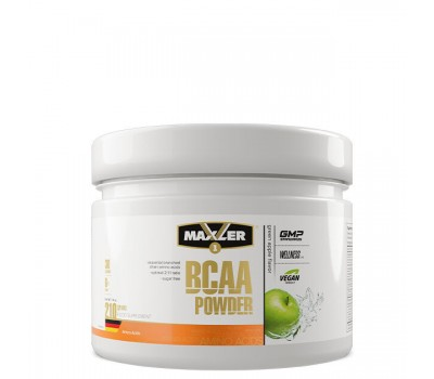 Maxler BCAA Powder 2:1:1 Sugar Free 210g (Green Apple)