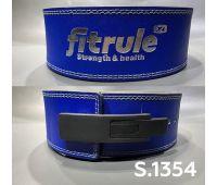 "FitRule Ремень Weight lifting Lever Blets ""S"" (синий)"