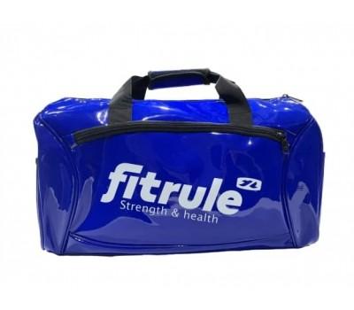Сумка FitRule спортивная глянец - Синяя