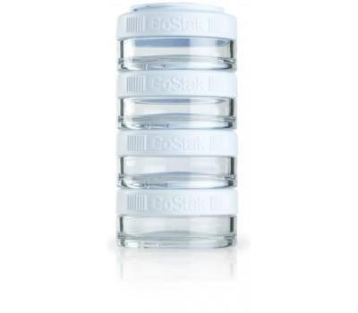 BlenderBottle GoStak Tritan 4 контейнера x 40мл (белый)