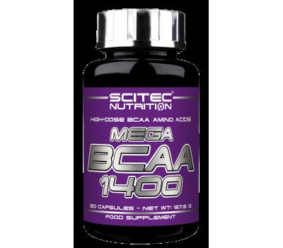 Scitec Mega BCAA 1400 (90 кап)