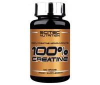 Scitec 100% Creatine Monohydrate (100 гр)