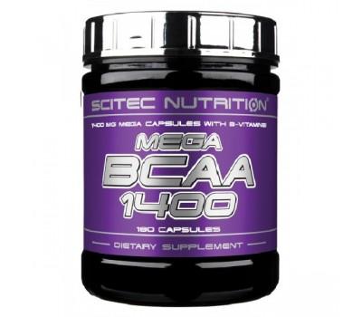 Scitec Mega BCAA 1400 (180 кап)