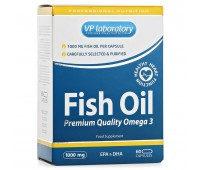 VPlab Fish Oil 1000mg (60 кап)